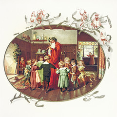 Children in Christmas (Free Public Domain Illustrations by rawpixel) Tags: jubjang antique art boy children christmas colorful crowded december decor decoration drawing elizaf elizafmanning event father girl greeting happiness happy home house illustration joy joyous man merry merrychristmas miracle music name old orphans play playful publicdomain santa santaclaus season spirit vintage winter xmas