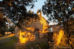 Ermita de Sant Marc (Jordi Castellà) Tags: anya artesa noguera romanic romanesque bn pano panoview