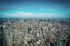 View over Manhattan (schwara76) Tags: architecture architektur city fujilove oneworldtradecenter freedomtower xf1024 fujifilm fuji newyork nyc manhattan