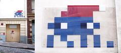 Space invader [Paris 16e] (biphop) Tags: europe france paris streetart space invader spaceinvader mur wall installation mosaic mosaique 75016 pa1038