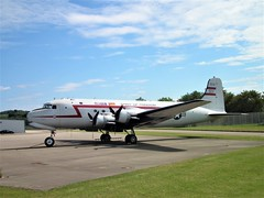 Spirit of Freedom (Gerry Rudman) Tags: douglas c54 r50 skymaster 449144 spirit freedom allegheny county airport pennsylvania