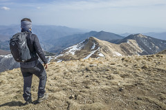 On the top (Marco Pulidori 2.0) Tags: hiking mountain mountains trekking osprey panorama snow snowcapped pracchia pistoia orsigna landscape landscapes forclaz decathlon clothes