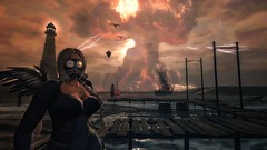 The end (Angel Neske) Tags: apocalyptic bomb mask angel fo fallout rp destruction sl water landscape lighthouse