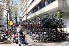 Utrecht, Moreelsestraat bike park (Davydutchy) Tags: utrecht nederland netherlands niederlande paysbas holland fiets fietsen rijwiel bike bicycle fahrrad fahrräder kolo vélo bicikl cykel pyörä велосипед parking park bikepark parkeren stallen fietsenstalling stalling storage march 2019