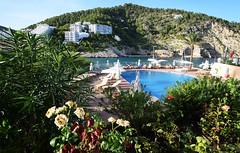 Cala Llonga - Ibiza (Explored) (Mark Wordy) Tags: calallonga ibiza spain bay cove beach palladiumhotel swimmingpool