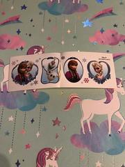 Frozen stickers #olaf #elsa #anna #disney #frozen #love (direngrey037) Tags: olaf elsa anna disney frozen love