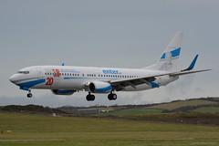 SP-ENX Enter Air Boeing 737-800 EGNS 10/12/18 (David K- IOM Pics) Tags: sp spenx boeing 737 737800 b738 enter air ent e4 egns iom isleofman isle man ronaldsway airport