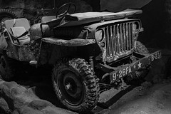 WWII Jeep (davetherrienphoto) Tags: seat steeringwheel army neworleans grille dirt wwii bumper nola jeep tire