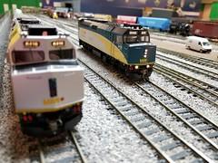VIA 6428 (Trains By Perry) Tags: hoscale ho hotrak feb2019 setup via viarailcanada