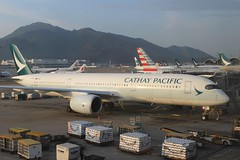 Cathay Pacific (So Cal Metro) Tags: airline airliner airplane aircraft plane jet aviation airport hongkong hkg