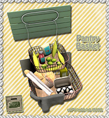 crate Pantry Basket for Saturday Sale! Out Now (crate.) Tags: decor basket produce 3d mesh bread bananas eggs crate