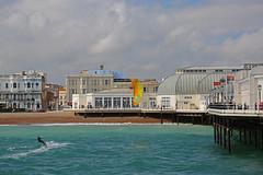 2018_08_15_0039 (EJ Bergin) Tags: sussex westsussex worthing beach seaside westworthing sea waves watersports kitesurfing kitesurfer seafront thepier lewiscrathern