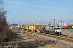 Railtraxx 6603 Bundel Zuid (TreinFoto België) Tags: 6603 266 0037 captrain railtraxx 41582 rheinhausen kalishoek antwerp gateway deurganckdok bundel zuid waaslandhaven lijn 10 liefkenshoek antigoon kallo belgië belgium belgien belgique gm 66 class emd