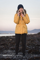 Icelandic Outdoor Adventure Fashion Shoot (Naomi Rahim (thanks for 4.5 million visits)) Tags: outdoor adventure 2018 iceland reykjavik nikond7200 55200mm nikon winter fashion editorial photoshoot coat down beanie mustard yellow vsco sunset sky