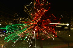 Zoom Burst (EGPhotography2010) Tags: abstract zoomburst lights christmaslights winter
