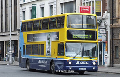 Dublin Bus AX456 (06D30456). (Fred Dean Jnr) Tags: dublinbusyellowbluelivery busathacliath dublinbus dublinbusroute7 dbrook volvo b7tl alexander alx transbus ax456 06d30456 oconnellstreetdublin may2006 heineken