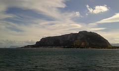 Mondello (PA) (dona(bluesea)) Tags: mare sea nuvole clouds montagna mountain mondello palermo sicilia sicily
