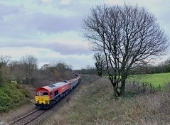 Not for Whimples (Stapleton Road) Tags: class59 59206 whimple diesel locomotive lswr freight diversion