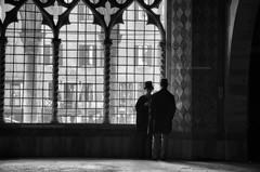 Dentro un sogno (encantadissima) Tags: venezia veneto cadoro vetrate colonne capitelli coppia people lucieombre bienne architecture canalgrande