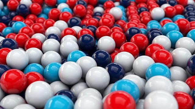 Обои шары, гладкая поверхность, разноцветные картинки на рабочий стол, фото скачать бесплатно