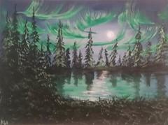 original art of Kelly W. Dora (turn off your computer and go outside) Tags: artist originalart acrylicpainting kellywdora