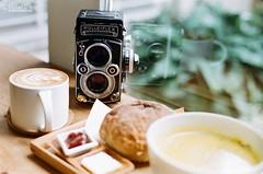 On Sundays, we brunch and shoot films. ([M!chael]) Tags: nikon f3hp nikkor 5014 ai fujifilm supera200 taiwan chiayi film manual rolleiflex coffee