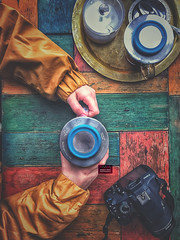 Mix color (amuna_caty) Tags: food canon color colors cup clear coffee cold photo photography photograph photographer picture nice tea teatime teabad table time top topview texture wood