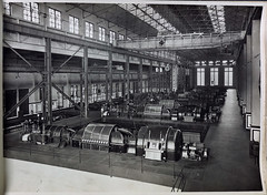 Newport Power Station. (Public Record Office Victoria) Tags: railways train electrification blackandwhite archives victoria newport power station engine room machinery 1919