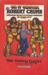 Robert Crumb's Sammelband / Die 17 Gesichter des Robert Crumb (micky the pixel) Tags: comics comic comix buch book livre undergroundcomics sammelband zweitausendeinsverlag robertcrumb