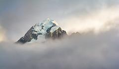 Aoraki Summit (MatthewColman) Tags: mount cook aoraki new zealand aotearoa clouds mountain travel landscape photography nikon d7100 55300mm