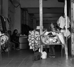 Ukay-ukay Store (Beegee49) Tags: ukayukay street people store blackandwhite monochrome bw luminar sony a6000 bacolod city philippines asia