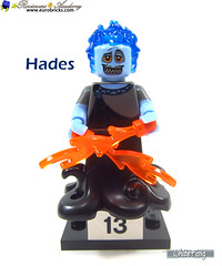 13) Hades (WhiteFang (Eurobricks)) Tags: lego minifigures cmfs collectable walt disney mickey characters licensed design personality animated animation movies blockbuster cartoon fiction story fairytale series magic magical theme park medieval stories soundtrack vault franchise review ancient god mythical town city costume space