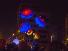 2759  Flores de luz (Ricard Gabarrús) Tags: luz flores neon fantasía fiesta floral barcelona luces ricardgabarrus olympus ricgaba nocturno noche
