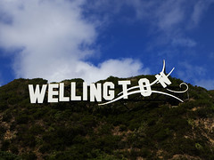 Wellington (Wozza_NZ) Tags: wellington wellywood sign letters words miramar