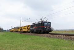 EBS 140 815-2 Gleisbauzug, Graben (michaelgoll777) Tags: ebs br140