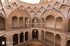 Kashan (welcometoiran) Tags: iran iranian kashan middleeast neareast persia persian tabatabaeihistoricalhouse welcometoiran welcometoirantours welcome esfahan ir irantravelagency islamic islam iranians makeiranmemory muslim travel tree table emotional village