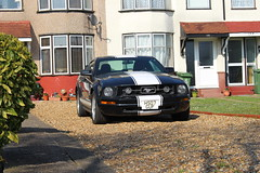 2007 Ford Mustang (doojohn701) Tags: american houses architecture retro v8 v10 shelby vegetation shadow gravel muscle car ford mustang uk