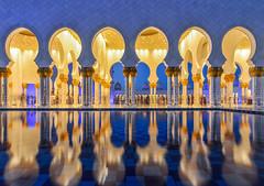 Grand Mosque of Abu Dhabi (phuong.sg@gmail.com) Tags: