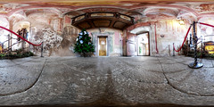 Bled Castle Chapel (jamescastle) Tags: equirectangular 360 panorama vr chapel castle slovenia europe bled qoocam