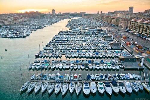 Vieux port. Marsella, Francia.