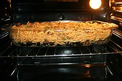 13 - Im Ofen backen / Bake in oven (JaBB) Tags: spaghetti noodles nudeln gyros erbsen peas casserole auflauf food lunch dinner essen nahrung nahrungsmittel mittagessen abendessen kochen cooking