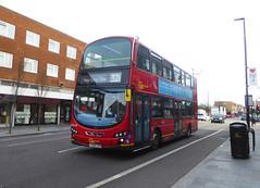 GAL WVL290 - LX59CZH - ELTHAM HIGH STREET - SAT 9TH FEB 2019 (Bexleybus) Tags: eltham high street london se9 goahead go ahead wrightbus gemini volvo b9 wvl290 lx59czh tfl route 321