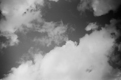 Clouds (Matthew Paul Argall) Tags: kodakstar500af 35mmfilm blackandwhite blackandwhitefilm ilforddelta100 100isofilm cloud clouds sky