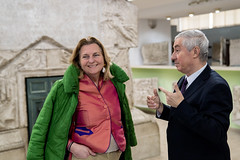 Karin Kneissl in Bukarest