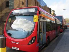 Go Ahead London WS75 (Teek the bus enthusiast) Tags: victoria putney bridge route 36 507 london buses go ahead abellio metroline tower transit national express
