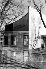 Portland-Seattle (_Solinar_) Tags: agfaambisilette nikonf801s kodakdirectpositive5246 expiredfilm kodak kodakhc110 roadtrip portlandoregon seattlewashington rangefinder slr vintagelens vintagecamera bw lateafternoonlight photographyasmeditation