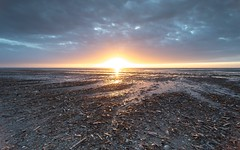 Blazing sunset (Bigcotty727) Tags: canon ainsdale beaches sunset