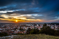 Colorful autumn Sunset over the Mikulov city, Moravia, Czech Republic (PhotoVision by Pavel Rezac) Tags: agriculture architecture autumn beautiful bottle building castle chapel church city country cultivation cultural czech destination europe european farm fortress garden hill historic historical history landmark landscape medieval moravia old outdoor panorama red rock romantic roof south summer sunny sunset tourism touristic tower town travel unesco view vineyard viniculture white wine