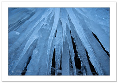 Blue arrows (Horia Bogdan) Tags: ice icicles snow winter arctic detail nature horiabogdan
