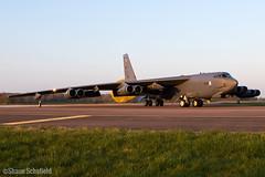 Boeing B-52H Stratofortress 60-0025/LA US Air Force RAF Fairford 28/03/19 (Shaun Schofield) Tags: buff bomber b52h stratofortress usaf raf fairford jet aircraft aviation